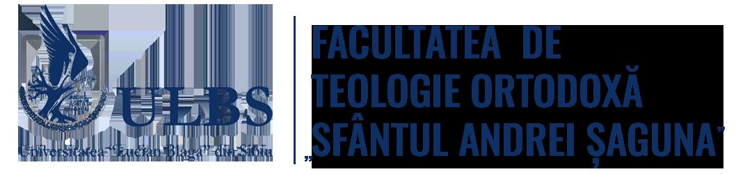 """Facultatea de Teologie ,,Andrei Șaguna"""" Sibiu"""